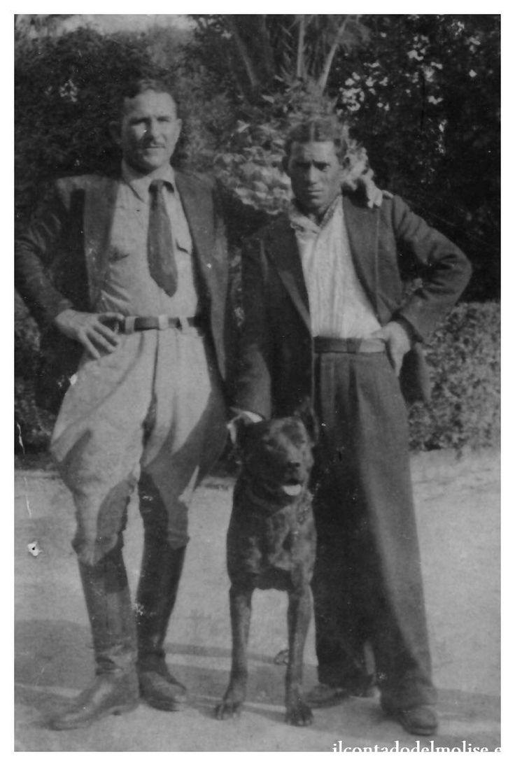 """sig.ri Giovannotto e Guastella con il mitico """"52"""" fine anni '40"""