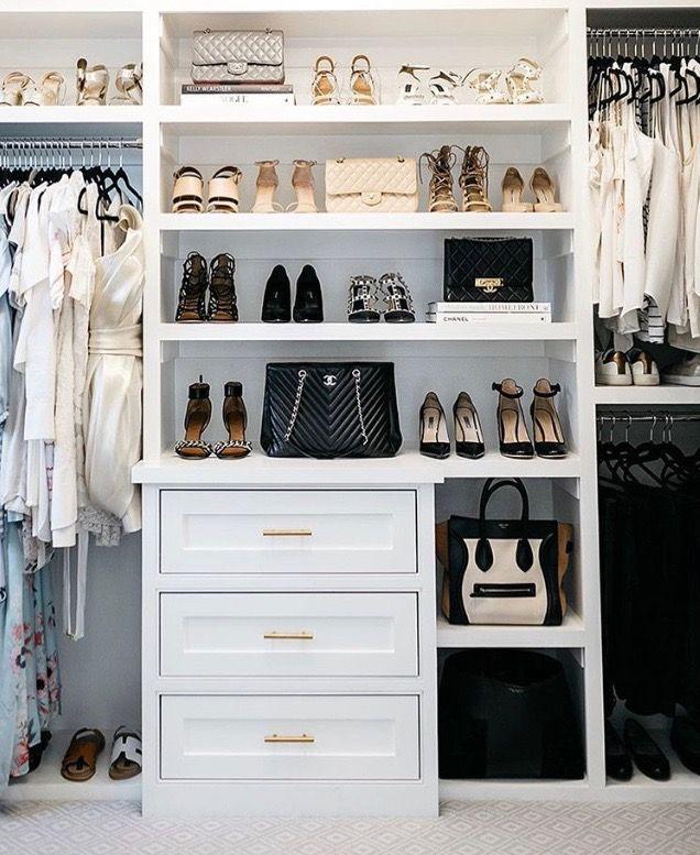 Closet organization | Dream Closet in 2019 | Bedroom closet ...
