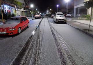Αuto  Planet Stars: Χιονίζει αυτή την στιγμή στην πόλη του Ηρακλείου,m...