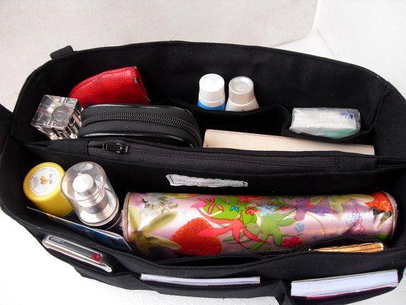 Medium Bag organizer  Purse organizer insert in by daffysdream