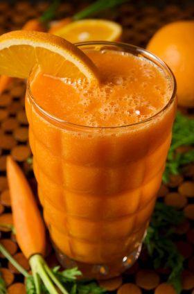 Морковно-абрикосовый Смузи