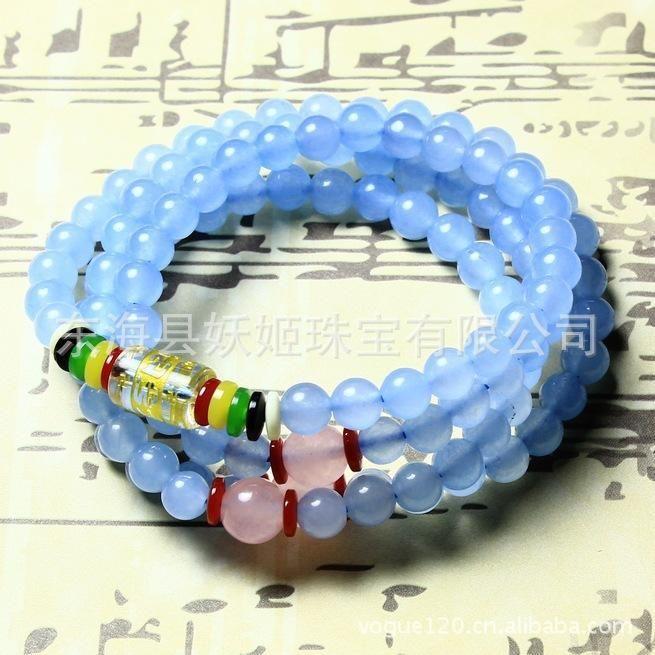Natürlichen Kristall Armband Kristall Schmuck Großhandel Multi Armband Weiße Muschel Mantra Armband Von