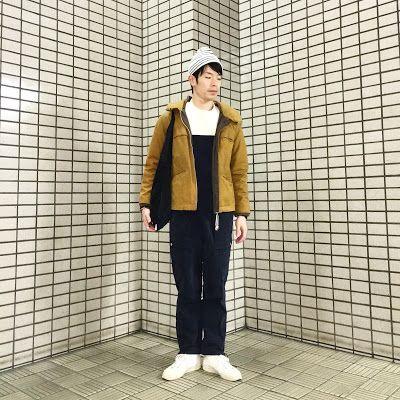 Y's Wardrobe: 【NATIC UMIT BENAN JACKMAN】サロペットにマリンブランドのアウターで漁師スタイ...