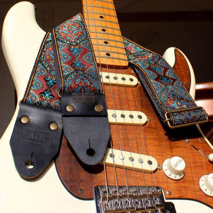 On Sale Patriotic Guitar Strap American Flag By Ethoscustombrands Leather Guitar Straps Guitar Strap Vintage Guitar Strap