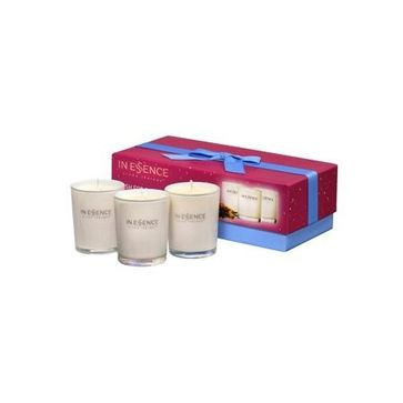 In Essence Wish for Bliss Gift Collection - Onefloor.com.au $29.95. Create a blissful, fragrant and relaxing oasis with In Essence Aromatic Candles. The perfect way to scent your home, illuminate a room and escape to exotic destinations.
