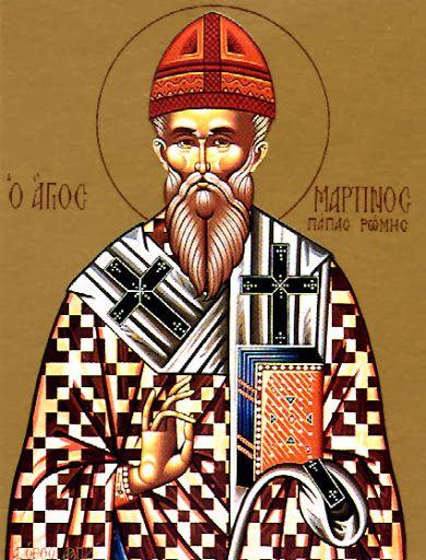 November 12.--ST. MARTIN, Pope. Butler's saint of the day.