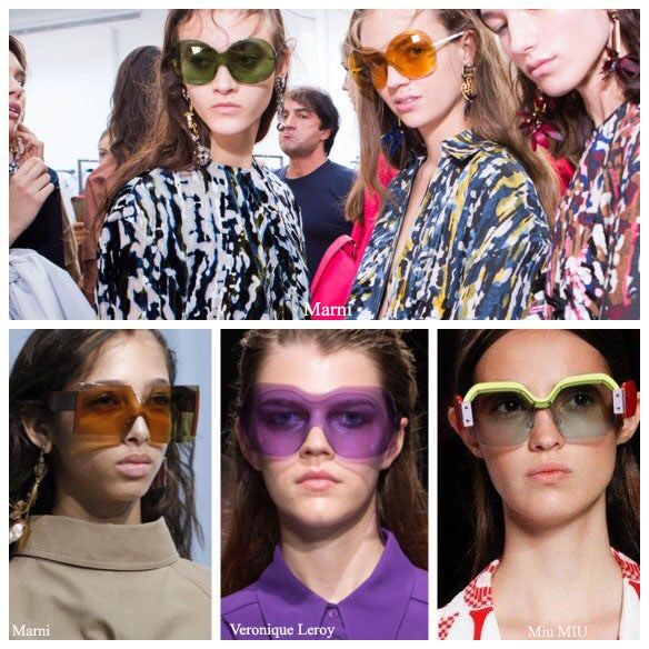 Oversized Sunglasses Summer 2017 in All Colors