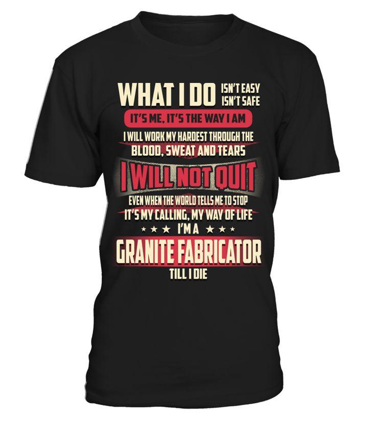 Granite Fabricator - What I Do