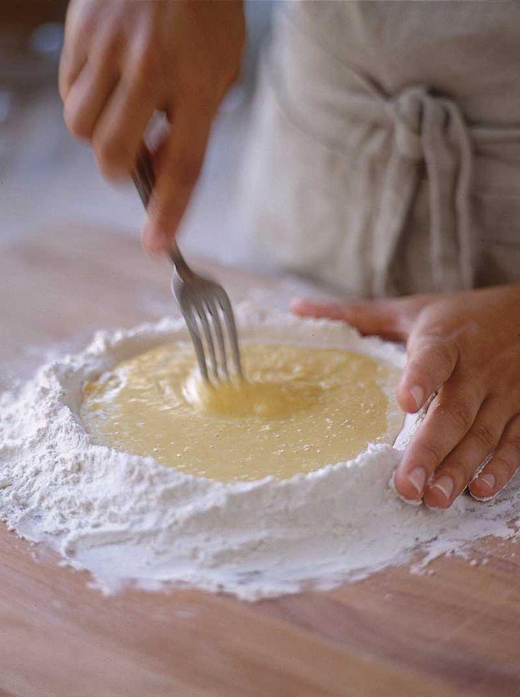 how to make rice pasta dough