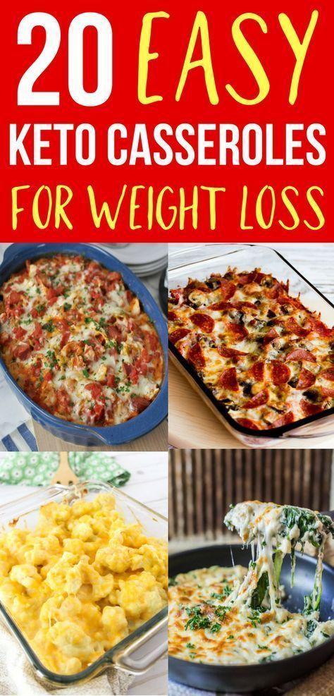 30 receitas fáceis de Keto Casserole para perda de peso
