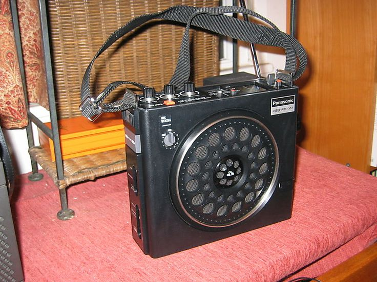 Panasonic RF-888 PSB/AM/FM Radio. I got mine for Christmas in the early '70's when I was 13.  Loved all the buttons and features and it had public service band.  I could listen to Monday night football after I had to go to bed.   I still have this and it works great and looks great.