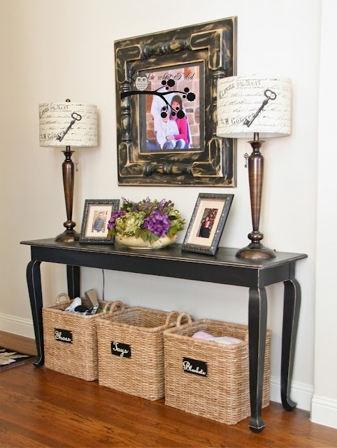 Foyer Storage Near Me : Images about entry table decor on pinterest