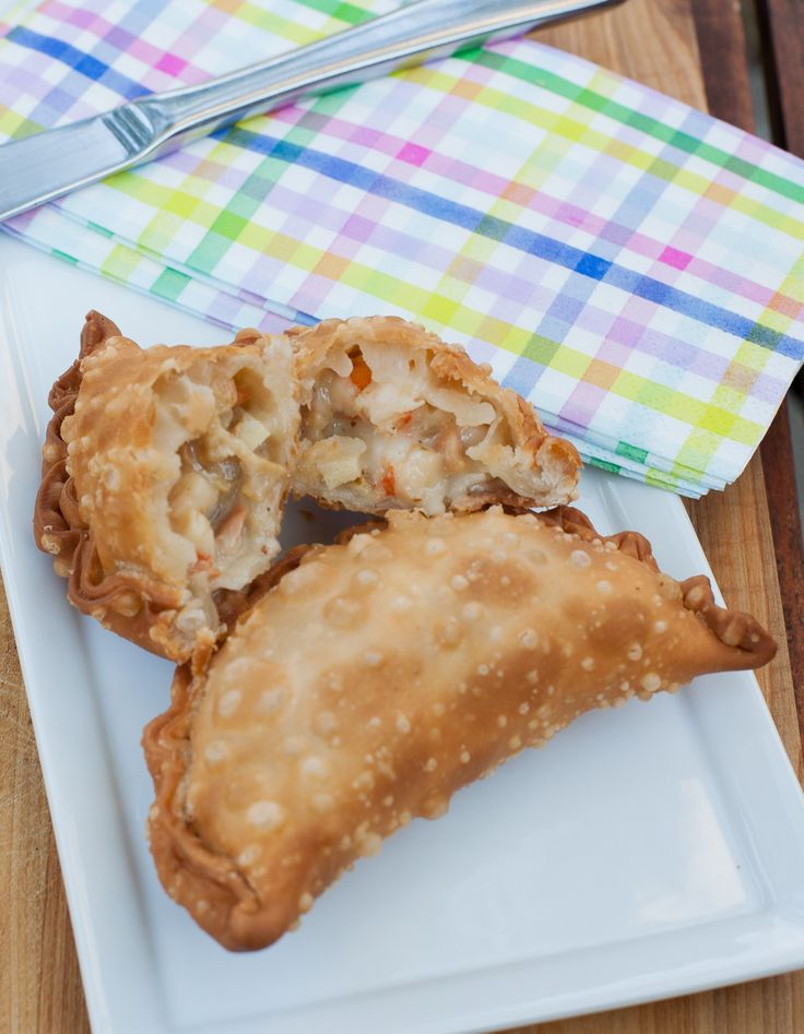 Empanadas de mariscos fritas, receta chilena
