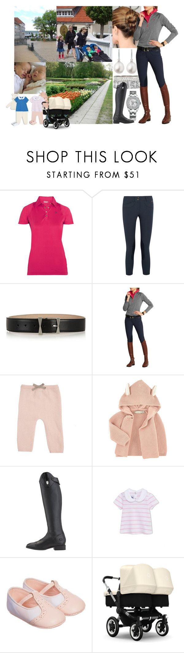 """""""Taking Ava, Lily, Isabella, Vincent and Josephine Into Town After Coming Back From Riding with Mary"""" by louiseingrid-ofdenmark ❤ liked on Polyvore featuring Ariat, Alexander McQueen, STELLA McCARTNEY and Burberry"""
