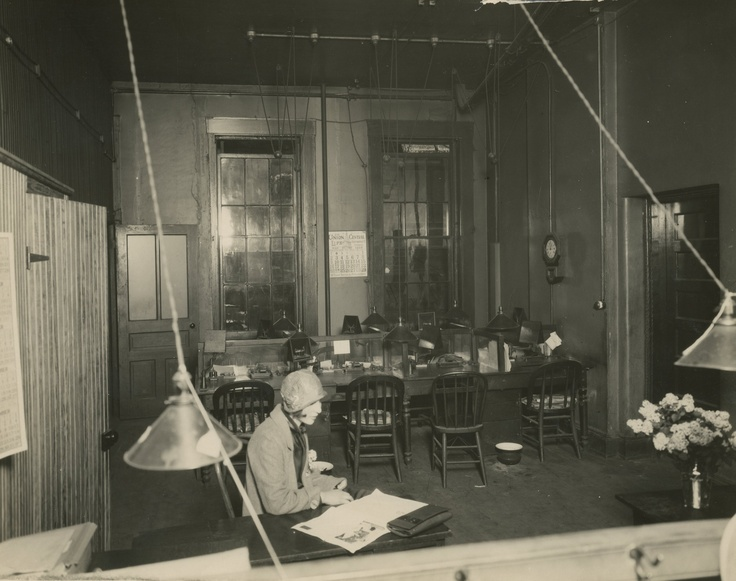 Enquirer editorial offices, May 1926Enquir Editorial, Editorial Offices
