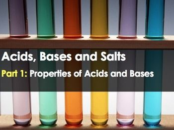 A24-slide PowerPointthat serves as an introduction the topic of acids, bases, neutralization and salts.