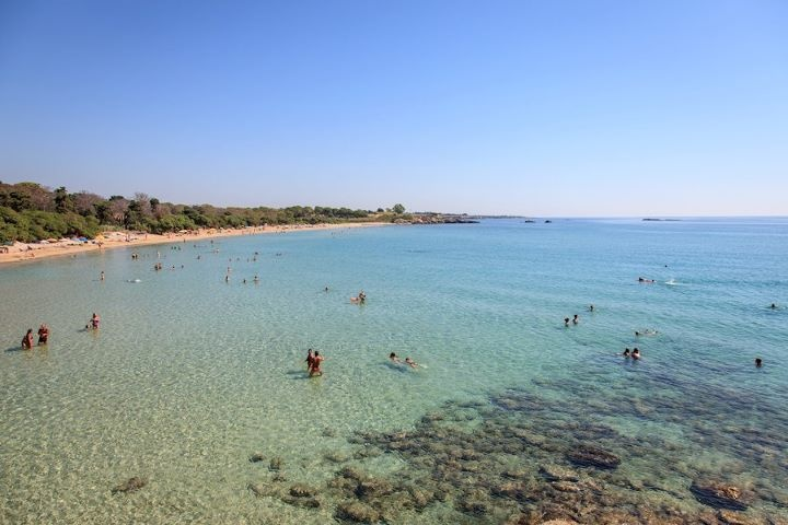 spiaggia del gelsomineto - siracusa -