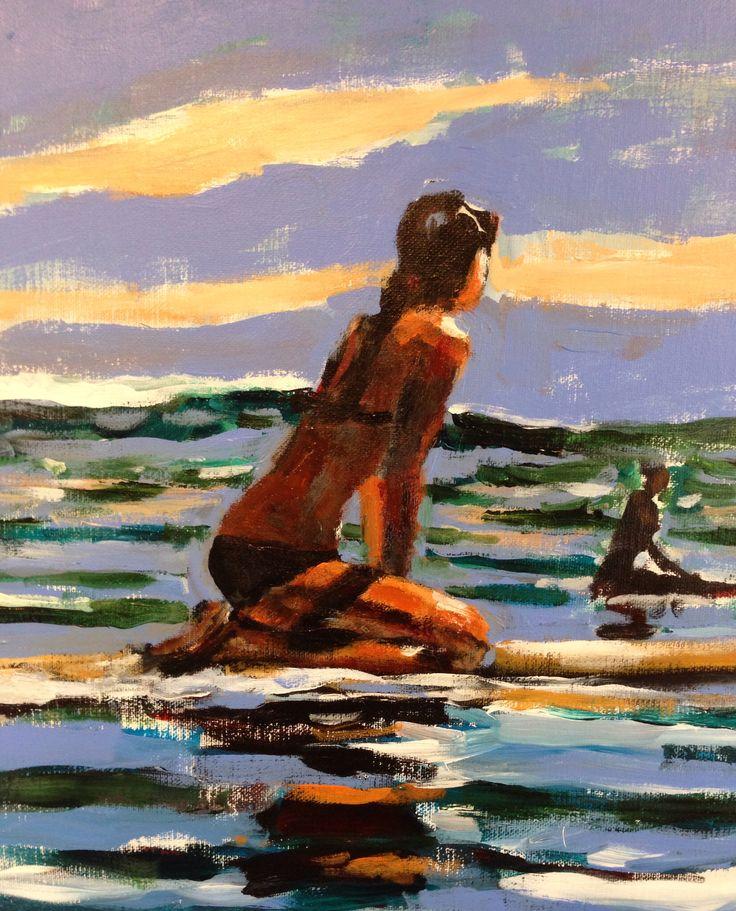 On the horizon #surf art