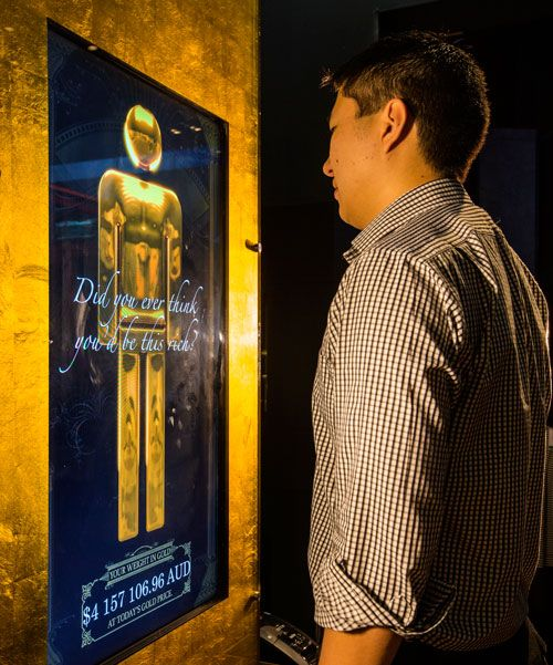 Discover your weight in gold at The Perth Mint Exhibition.