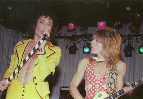 Randy Rhoads and Kevin DuBrow in Quiet Riot