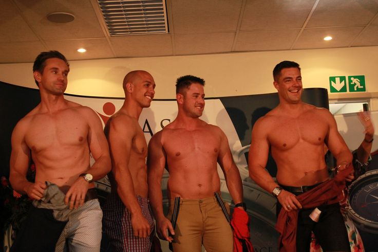 Our eye candy male models starring Mister South Africa and his partners in crime