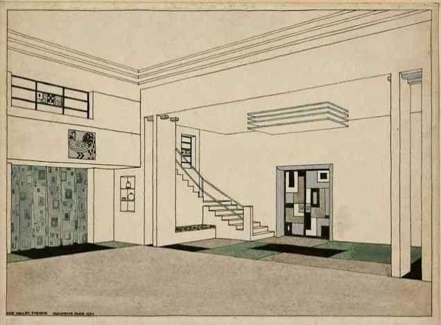 Villa Cavrois de Rob Mallet Stevens: L'Exposition des Arts Décoratifs à Paris en 1925