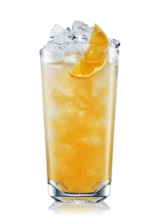 Absolut Mandarin Punch.... 2 parts absolut mandarin, 2 parts ginger ale, 1 part pineapple juice, 1 wheel lime, 1 wedge lemon
