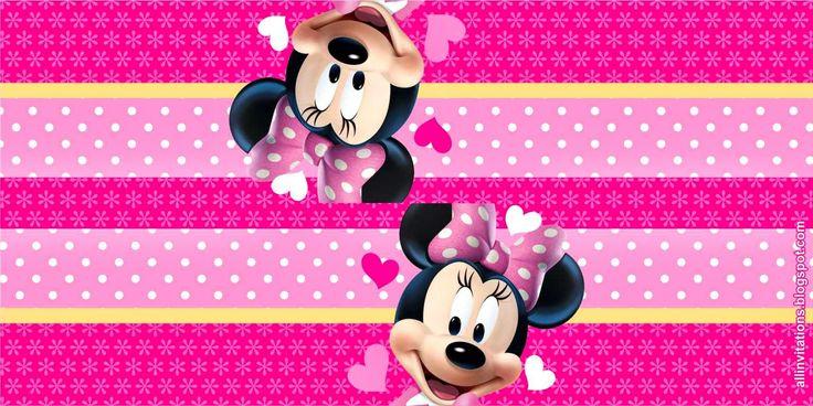 Etiqueta Bolsa de Dulces Minnie Mouse
