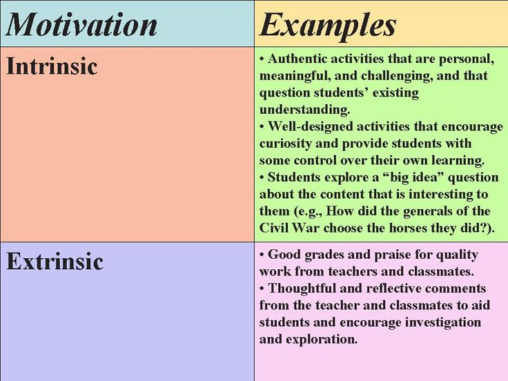 extrinsic rewards are the best motivation Print version intrinsic motivation extrinsic motivation effects of  research indicates that extrinsic rewards can have a  ken bain, what the best.