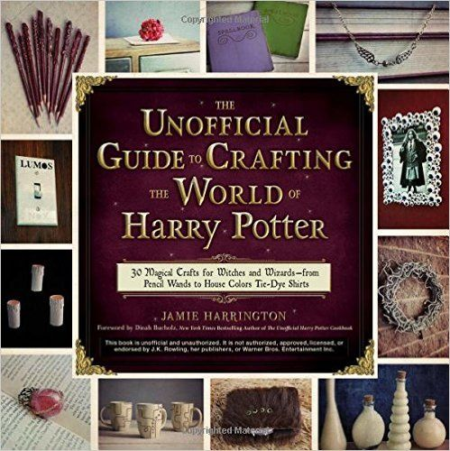 Harry Potter Craft Book? Yes, Please!