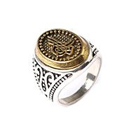 Antiqued Gothic Floral Rings Male Trendy Rock Punk Biker Bands Jewelry Ring – NOK kr. 34