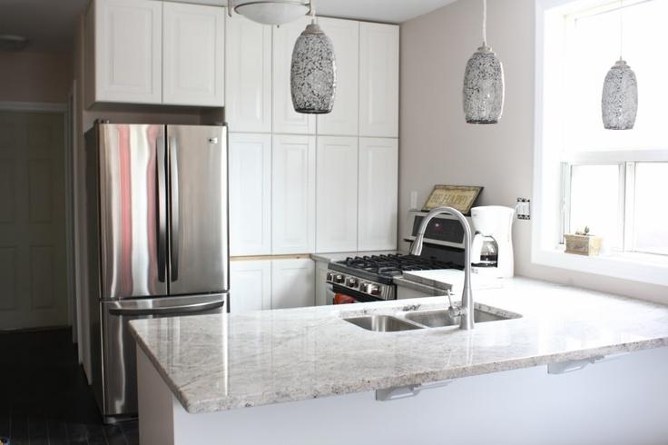 White Silver Granite Countertop : kitchen countertops - silver silk by sensa granite For the Kitchen ...