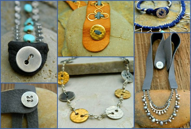 Sterling Silver Buttons for Jewelry :: Designs to Inspire