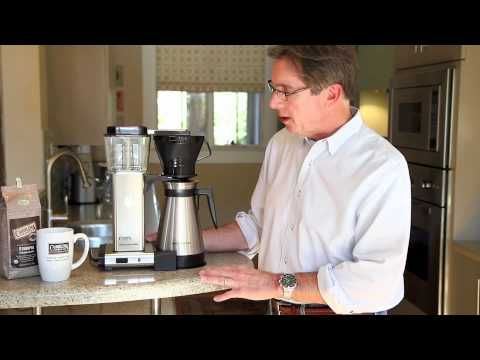 Carolina Coffee Company Test The MOCCAMASTER TECHNIVORM