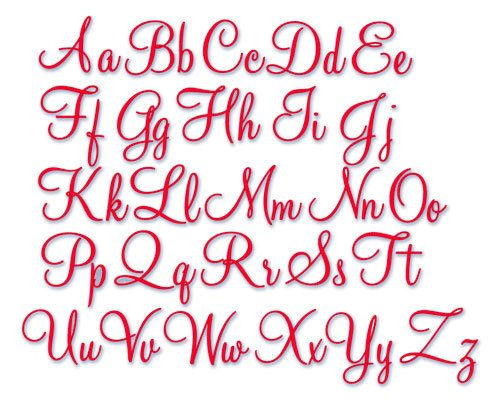 17 Best images about Embroidery Fonts on Pinterest   Machine ...