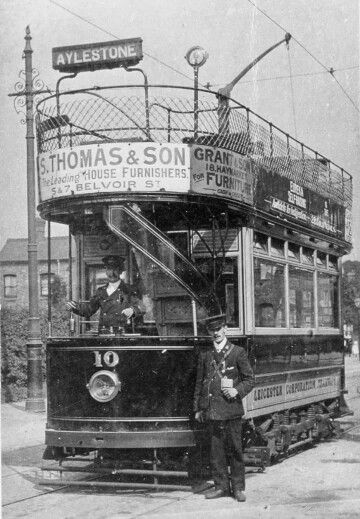 Leicester tram