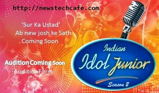 Upcoming 'Indian Idol Junior 2015' Season 2 On Sony Tv Wiki Registration   Auditions   Promo   Telecast & Timing Details