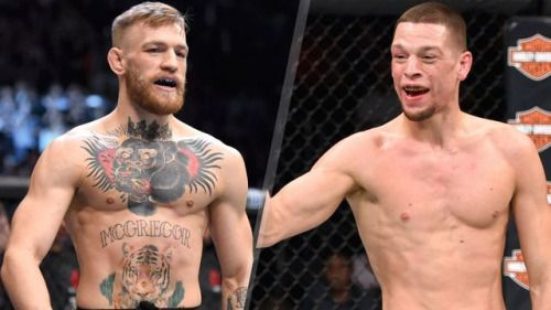 Conor McGregor jumps two UFC weight classes to take on Nate Diaz... #ConorMcGregor: Conor McGregor jumps two UFC weight… #ConorMcGregor