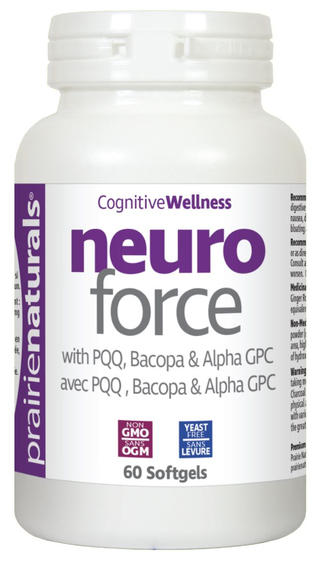 Neuro Force with PQQ, Bacopa & Alpha GPC