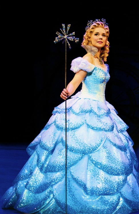 Gina Beck - Glinda (West End). She also happens to be one of my two favorite Christines in POTO. :)