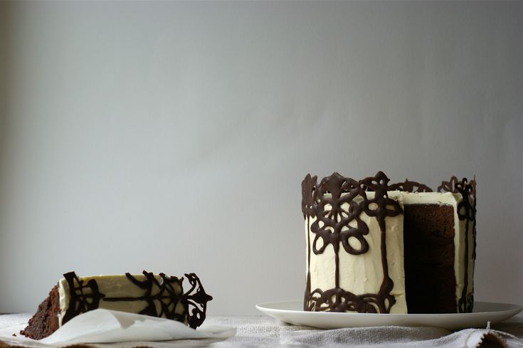 Poires au Chocolat: Whisky and Dark Chocolate 'The Beautiful and the Damned' Cake