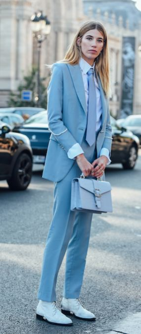 Best 25  Baby blue suit ideas on Pinterest | vestido de lino ...