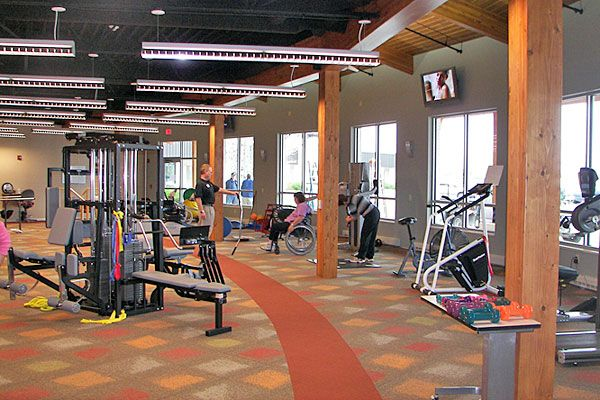 7 best physical therapy images on pinterest gym for Physical therapy office layout