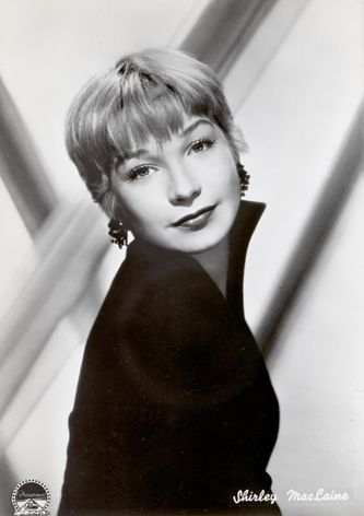 Shirley MacLaine. Memorable movie - Irma la Douce.