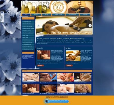 Healogy approached Vertex Central to create their online platform where future students can learn more about their available courses or where clients can make bookings for a variety of treatments. #CMS #Joomla #webdesign #massage #blue #relax