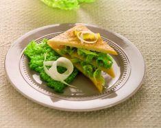 Millefoglie di farinata di ceci con verza e porri - Tutte le ricette dalla A alla Z - Cucina Naturale - Ricette, Menu, Diete