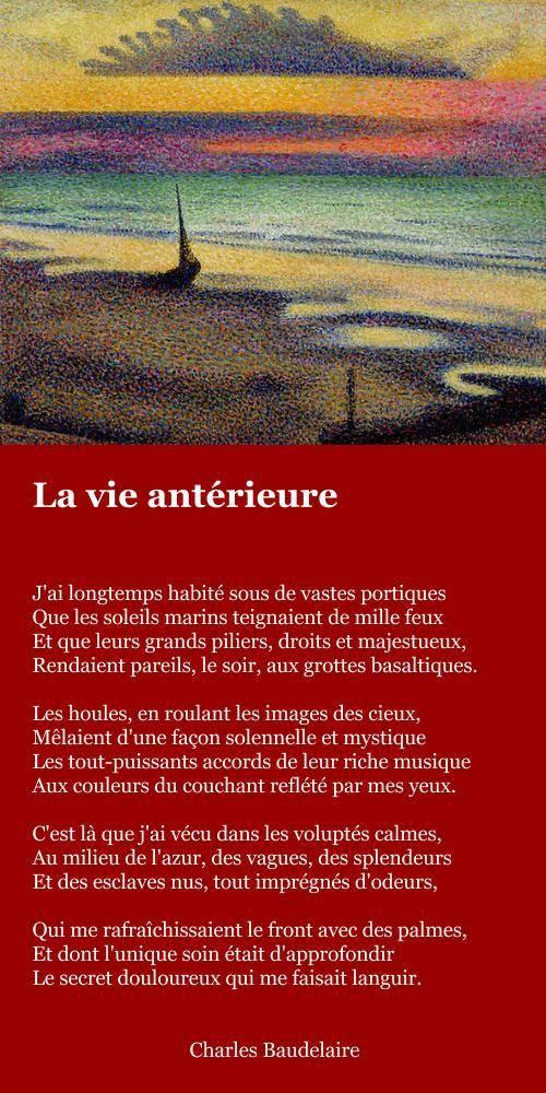 Baudelaire – La vie antérieure | À la française …