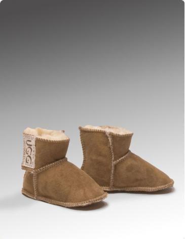 BABY UGOO BOOTIES  Keep your baby\'s feet warm with these beautifully soft Baby Ugoo booties.