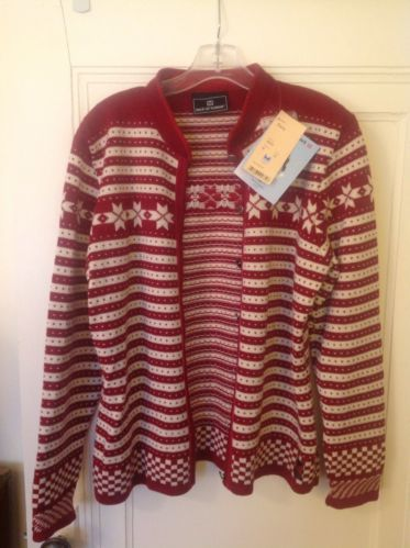 Dale Of Norway Fana Snowflake Christmas Norwegian Sweater Vintage But New