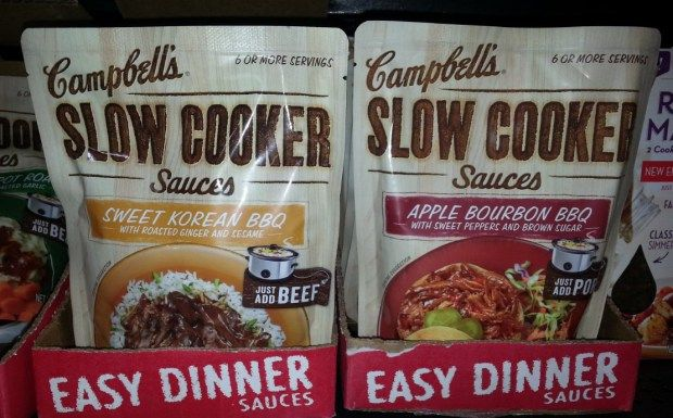 Campbell's Slow Cooker Sauces Just $0.97 Each After Coupon At Target!